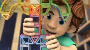 Кадр из мультфильма про фиксиков