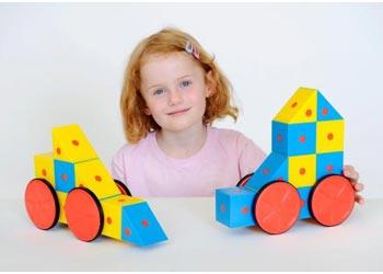 Магнитный конструктор для девочек